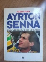 Título do anúncio: Livro Documentário Ayrton Senna Sua Vitória Seu Legado
