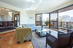 Título do anúncio: Apartamento em Moema Pássaros, para venda ou locação, com 4 suítes, 247 metros, 4 vagas de