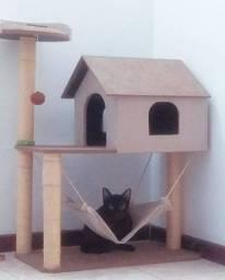 Casinha gatos 2 andares