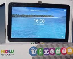 "Título do anúncio: Tablet 10"" p/ 2 chips com case"