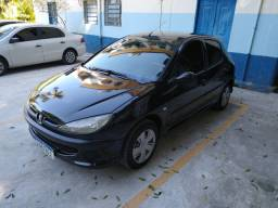 Peugeot 206 1.4 Completo com kit Gás Ano 2008