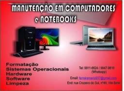 Título do anúncio: ...formatação notebook e desktop