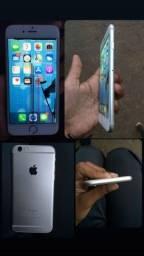 Título do anúncio:  iPhone 6S funciona normalmente , precisa apenas troca a tela !!!!!!
