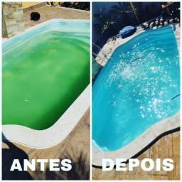 Título do anúncio: Companhia GV Limpeza de piscinas