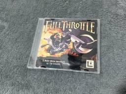 Título do anúncio: Full Throttle Jogo PC Raro
