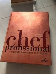 Livro novíssimo nunca usado Chef profissional Senac