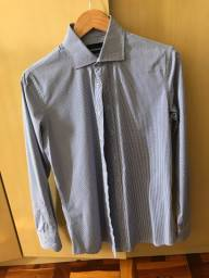 Camisa italiana slim Fit M comprada na Itália
