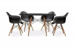 Título do anúncio: Cadeira Eames Eiffel com Braços