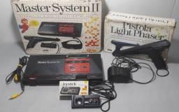 Título do anúncio: Master System 2 Todo Original Com Caixa, Isopor E Pistola (Aceito Olx Pay)