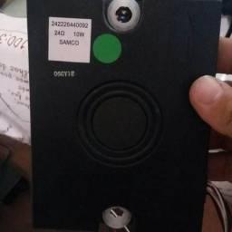 Altofalante subwoofer embutido da tv phillips pfl7606d