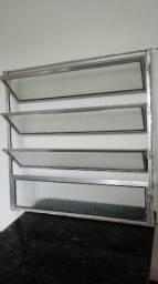 Janela de Alumínio 0,80x0,80