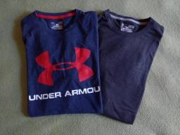 Conjunto Camisetas Under Armour Originais - Tamanhos M