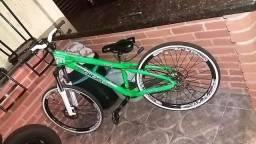 Vendo gios verde neom freios shimano rodas aro vmaxx