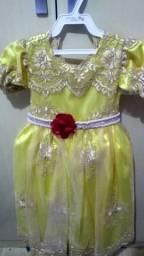 Lote Vestido da mimos e laços bory e coroa
