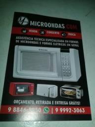 Conserto seu microondas em sua casa!Valor 70,00-150,00