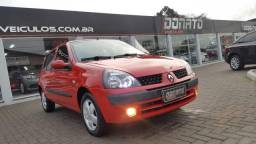 RENAULT CLIO 2005/2006 1.6 PRIVILÉGE 16V FLEX 4P MANUAL - 2006
