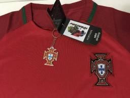 Camisa Seleção de Portugal - jogador (nova), Tamanho P
