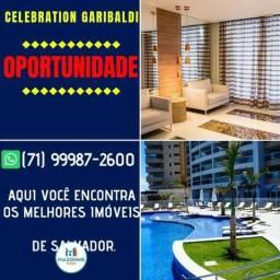 Apartamento 1 quarto em 59m² Celebration Garibaldi no Rio Vermelho