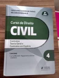Livro de Direito Civil (contratos)