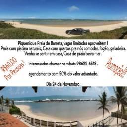 Pequinique Praia Barreta !