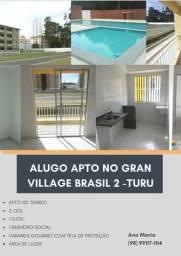 Alugo apartamento Village Brasil 2Turu