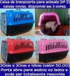 Caixa de transporte para animais (Novas)