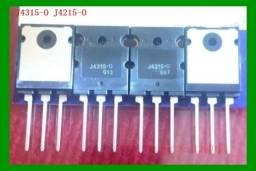 Transistor Mj4215 e Mj4315 10 Pares