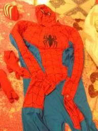 Roupa do homem aranha completa