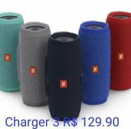 Caixa de som Charger 3 bluetooth, pen driver, cartão de memória, Muito potente!