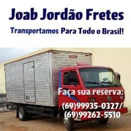 Fretes e mudanças pvh e todo Brasil