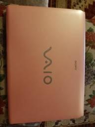 Notebook Sony Vaio Rosa Intel Core I3