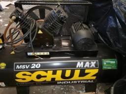 Compressor de ar Industrial Fabricante Schulz - 1486