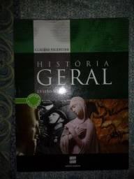 História Geral (volume único) - Cláudio Vicentino, Frete Grátis