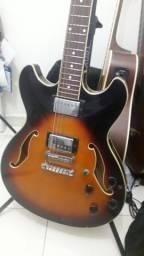 Guitarra Ibanez e Pedaleira Zoom comprar usado  Rio de Janeiro