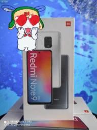 Redmi Note 9 Pro IMPERDÍVEL da Xiaomi. Novo. lacrado. Cartão