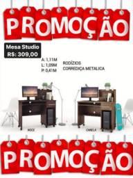 Mesa Studio c/gaveta PROMOÇÃO