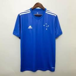 Camisas Cruzeiro - Temporada 2020 - Best Quality - Sob Encomenda - Passo Cartão