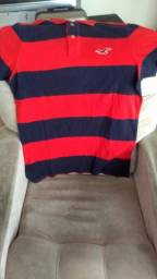 Camisas polo originais Hollister e Abercrombie seminovas