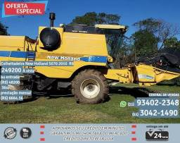 Colheitadeira new holland 5070 2010 R$249271