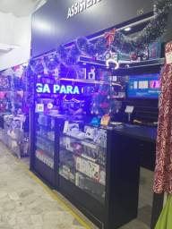 Vendo loja de acessórios de celular e assistência técnica.