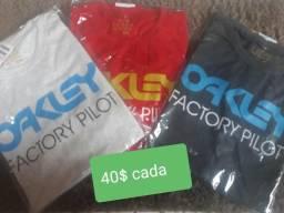 Camisas oakley comprar usado  Brasília