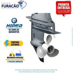 Motor de Popa Hidea 40 Fhes Partida Elétrica 2T