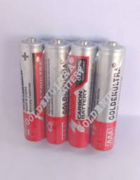 4 Pilha Golden Ultra AAA 1.5v Originais
