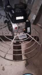 Acabadora de concreto e cortadeira de piso