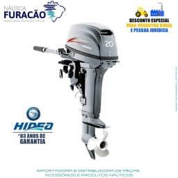 Motor de Popa Hidea 20hp Manual 2T