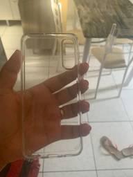 Capa que não amarela pro A50 da Samsung