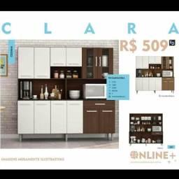 Cozinha clara (em promoção) frete grátis