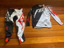 Conjunto Fly Evo 2.0 Motocross - 1 vez usado