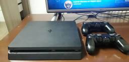 Ps4 Slim 1tb 80 jogos na conta troco por pc gamer ou Xbox Series s
