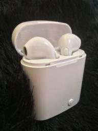 Título do anúncio: Fone de ouvido in-ear sem fio i7S TWS branco